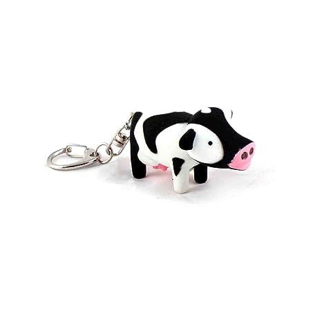 Linda vaca llavero con sonido FX: Amazon.es: Equipaje