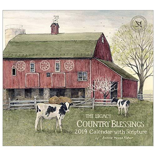 2019 Wall Calendar, Country Blessings - Blessing Calendar