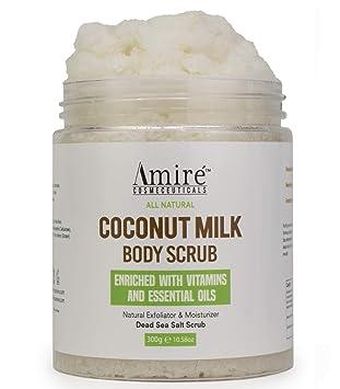 Amazon Com Coconut Milk Scrub For Body And Face 100 Pure Dead