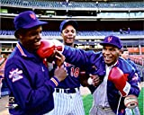New York Mets Dwight Doc Gooden, and Darryl Strawberry With Mike Tyson! 8x10 Photo Picture