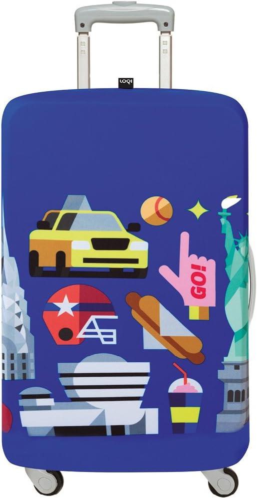 58-65cm Loqi M HEY New York Cubierta de equipaje