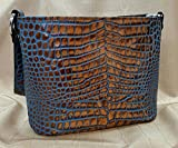 MoonStruck Leather Concealed Carry Purse - CCW Handbags - Tan Marine Crocodile - Made in the USA - Classic
