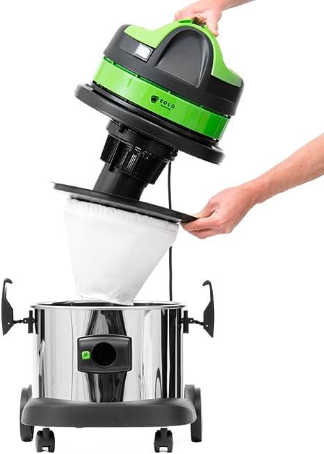 Eolo aspiradora Profesional para hollín y Ceniza Caliente + Kit Accesorios LP31 INOX GT (17 litros): Amazon.es: Hogar