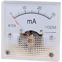 Sourcingmap 91C4-A - Medidor de corriente analógica