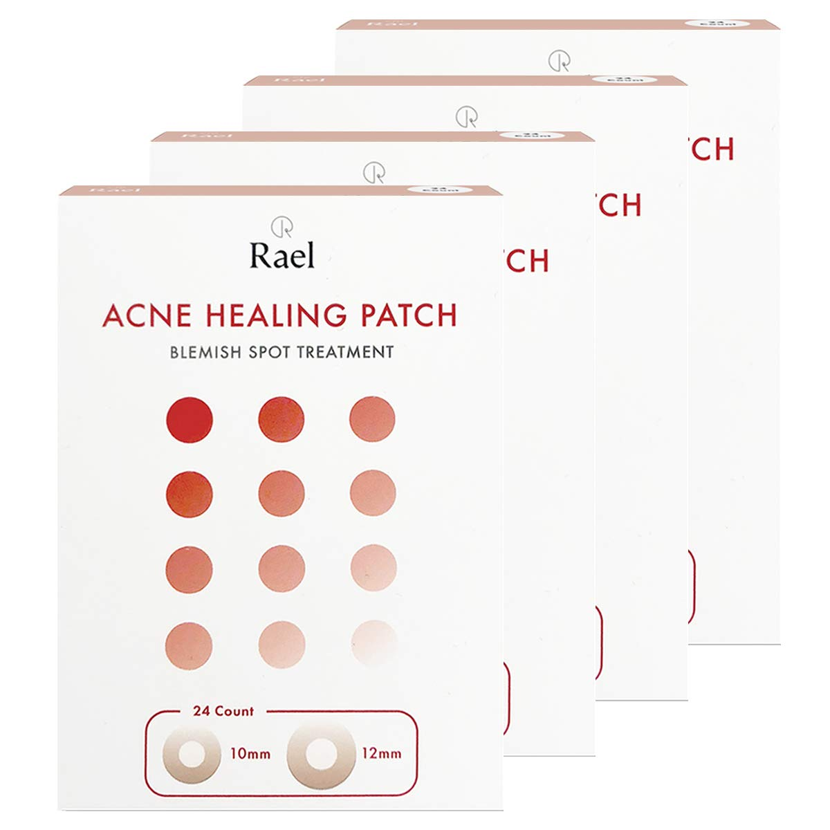 Rael Hydrocolloid Acne Pimple Healing Patch (4 packs)