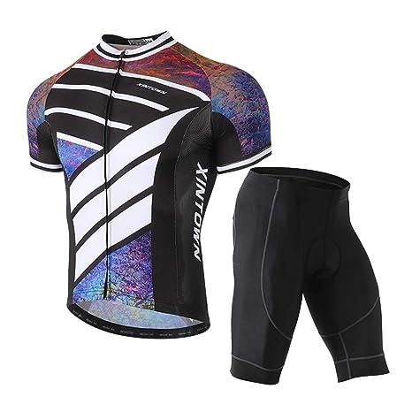 Men Sportswear Cycling Bike Short Sleeve Clothes Jersey/&Trouser Suit