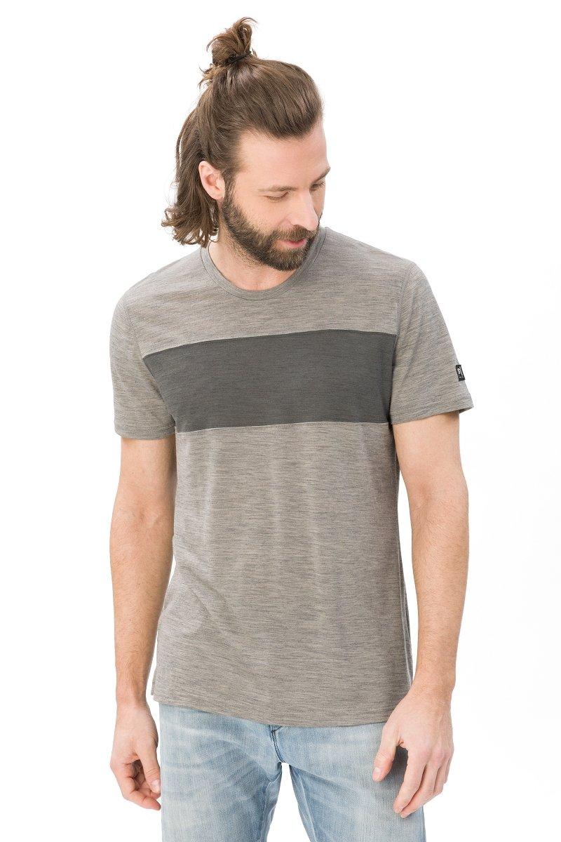Super.natural Herren M Comfort Contrast Merino T-Shirt