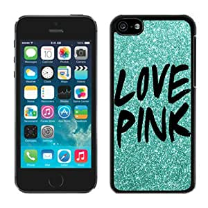 Love Pink Iphone 5c Case Balck Cover,iphone Cases and Covers,iphone Covers,iphone 5c Cases,cool Iphone Cases,cute Iphone Cases