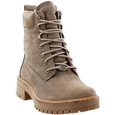 """03098286567e8 Timberland Women's Courmayeur Valley 6"""" Boot Medium Grey Nubuck ..."""