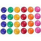 vanki Round Presentation Whiteboard Magnetic Button 24 Pcs
