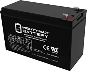 Mighty Max Battery 12V 7.2AH SLA Battery for Razor e200s, e225, e325 Brand Product