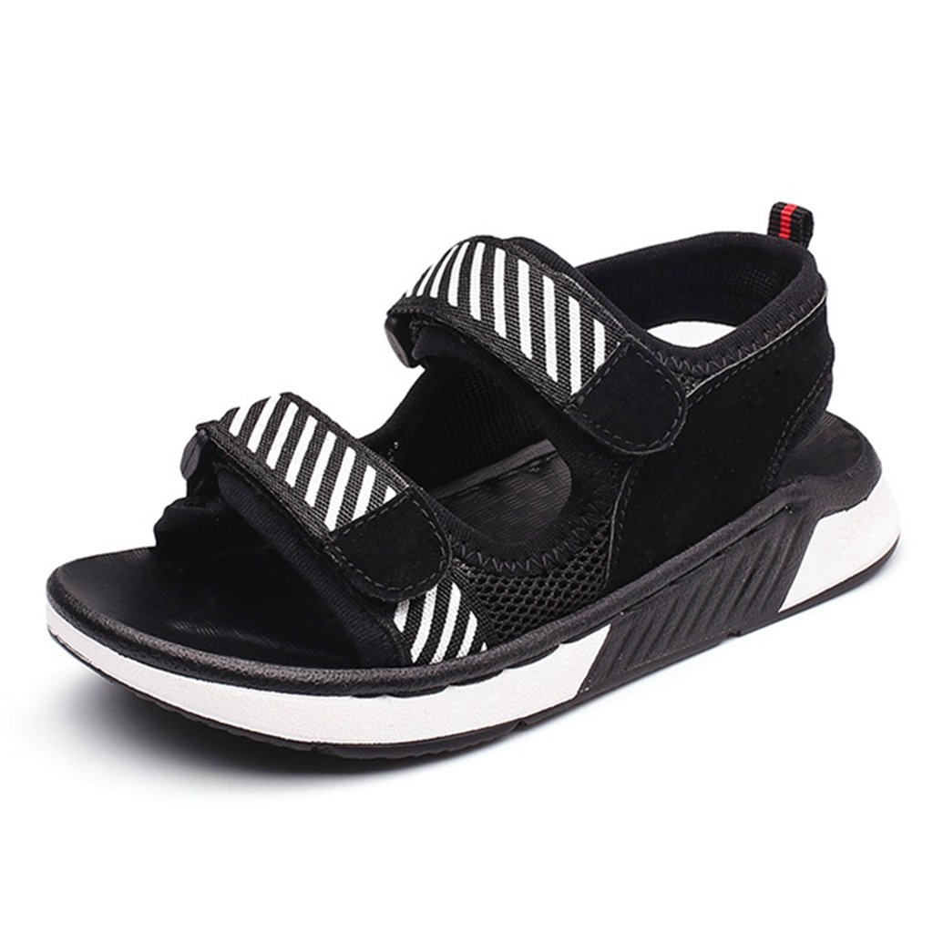 Boy and Girl's Open Toe Adjustable Strap Sandals Kids Summer Outdoor Beach Athletic Casual Sandals
