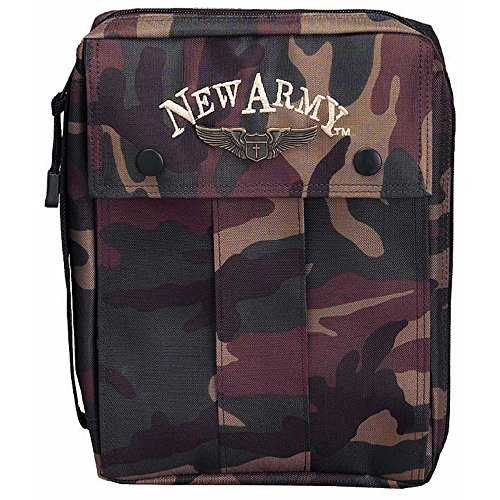 Dicksons Camo New Army (in Black) Bible Cover Medium by Dicksons