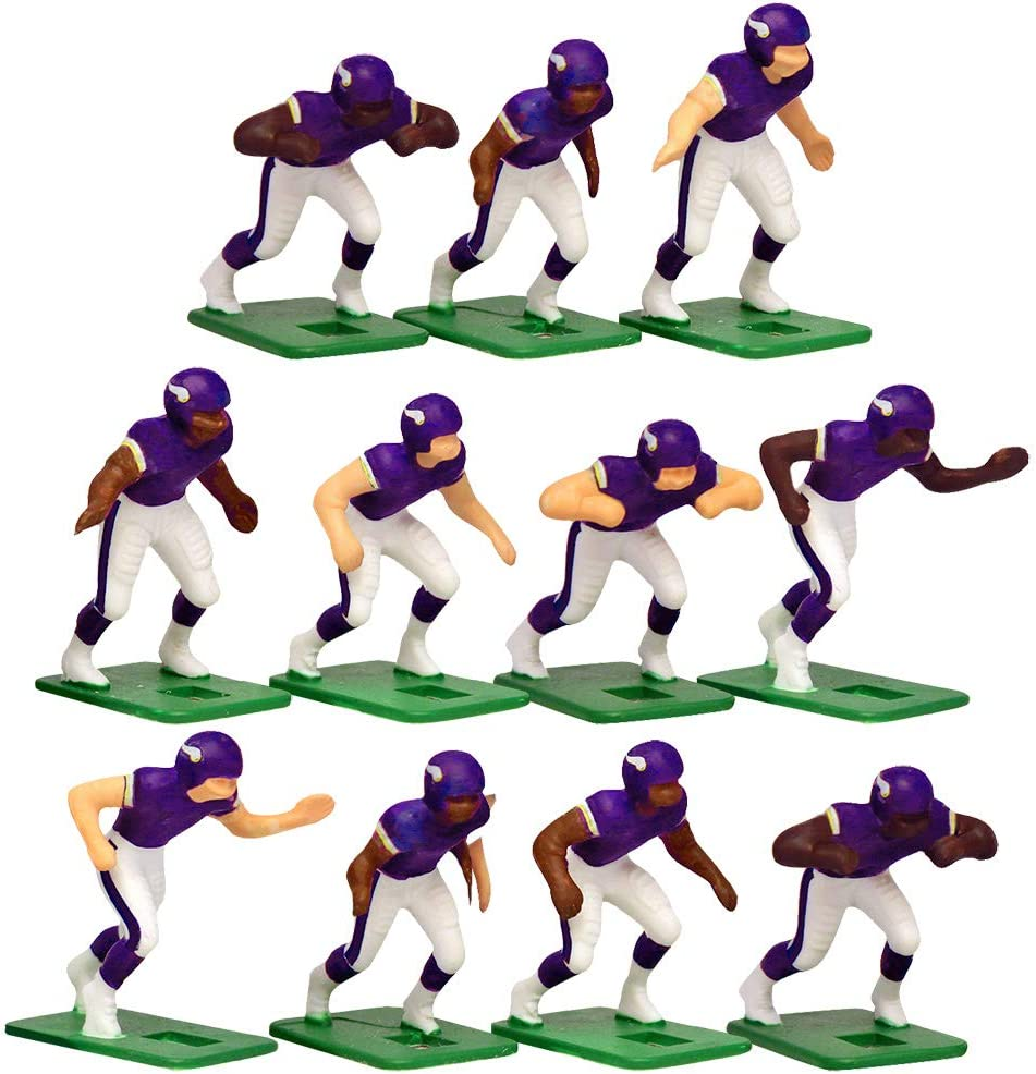 Minnesota Vikings Home Jersey NFL Action Figure Set