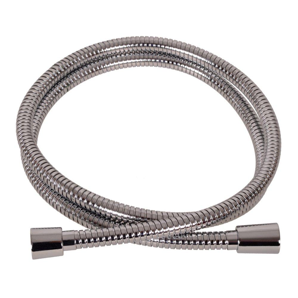 VARIOSAN Flexible de douche Premium 10094, 1,50 m, acier inoxydable, Chromé , DN15 Chromé