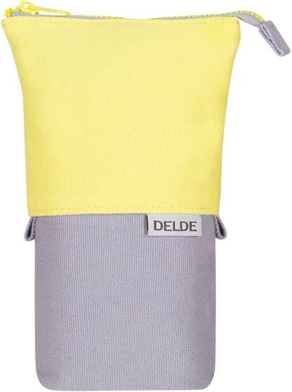 Sunstar Delde S1409603 - Estuche, color amarillo claro: Amazon.es: Oficina y papelería