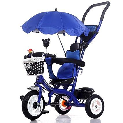 QILEGN Carrito de bebé Bicicleta de bebé, Triciclo para ...