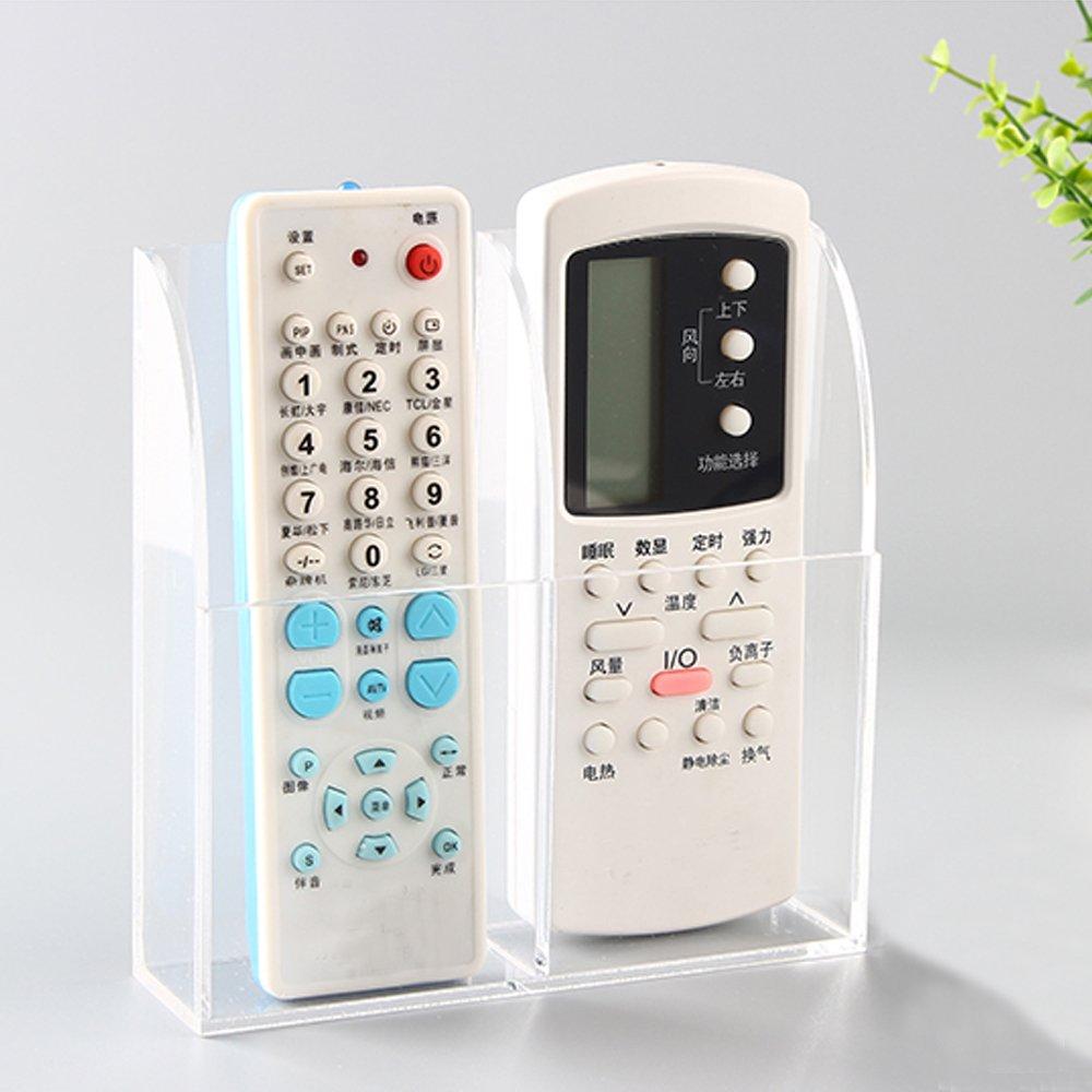 VANCORE Remote Control Holder - Acrylic Wall Mount Media Organizer Box, 1 Conpartment