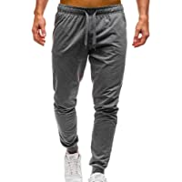Homme Sport Running Cargo Hiphop Pantalons Crayon pour Casual Slim Fit Jogging Fitness Gym Pants Respirant Poches Baggy Sarouel Yoga