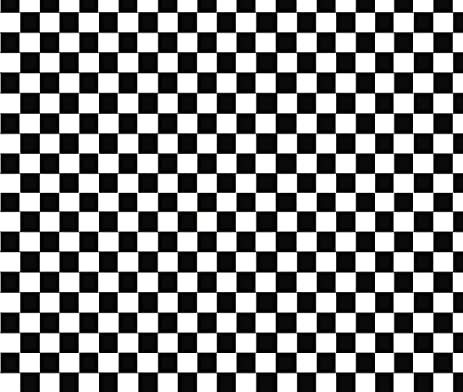 amazon com black fabric black and white checkered pattern by