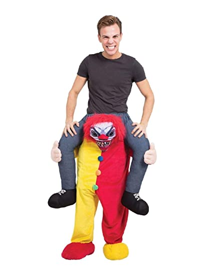 Piggyback Halloween Adults Fancy Dress Scary Ride On Novelty Mens Ladies Costume