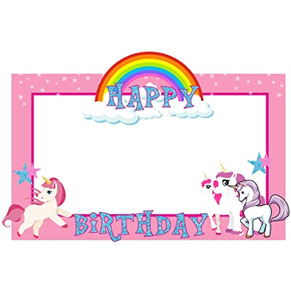 Buy Party Propz Unicorn Photobooth Frame (2ft) Online at Low Prices ...