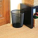 Seville Classics 3-Pack Round Mesh Wastebasket