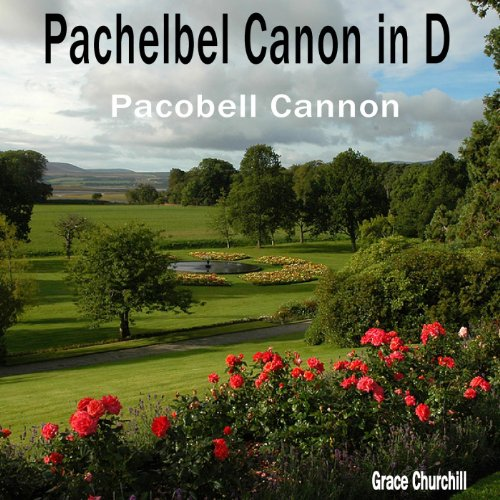 Pachelbel Canon D Pacobell Cannon product image