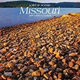 Missouri, Wild & Scenic 2019 7 x 7 Inch Monthly Mini Wall Calendar, USA United States of America Midwest State Nature