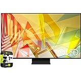 Samsung QN65Q90TAFXZA 65 inch Q90T QLED 4K UHD HDR Smart TV 2020 Model Bundle with Support Extension