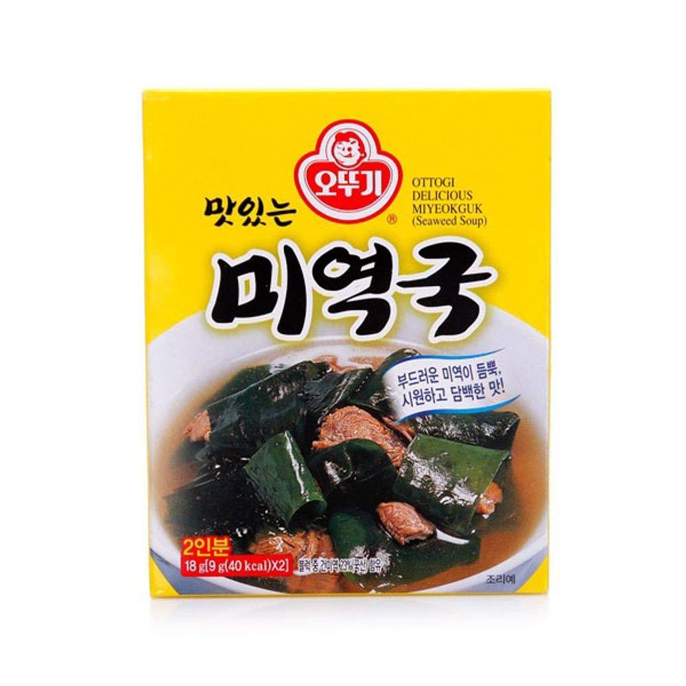 Ottogi Seaweed Soup 18g x 6 packs