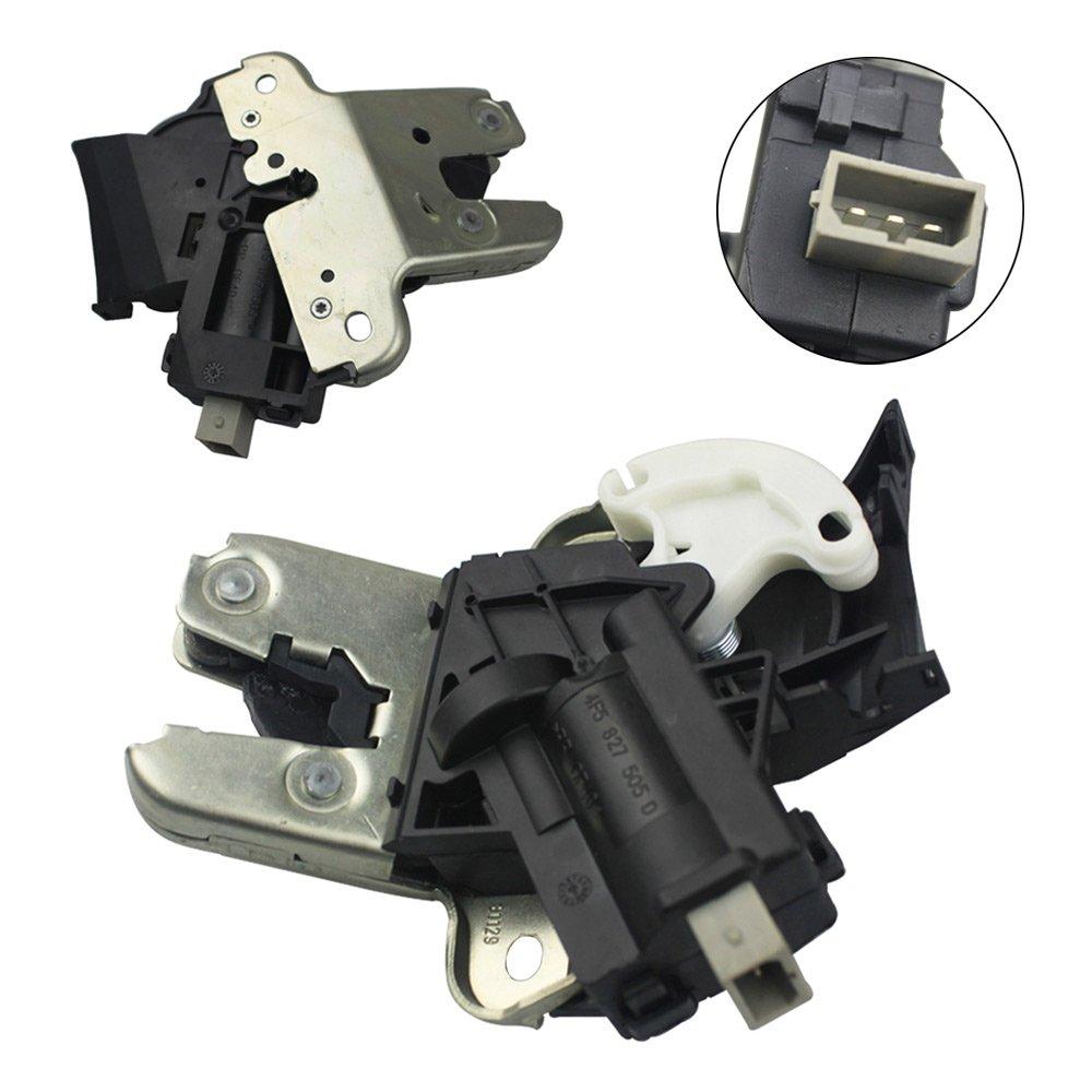 FOLCONROAD Rear Trunk Lid Lock Latch For Audi A4 A5 A6 A8 Quattro S4 S6 VW 4F5 827 505 D # 69050-33120