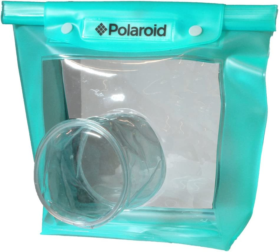 Polaroid Dive Rated Waperproof Pouch for The Samsung NX-5, NX-10, NX-100, NX-200, NX20, NX210, NX300, NX1000, NX1100 Digital Cameras