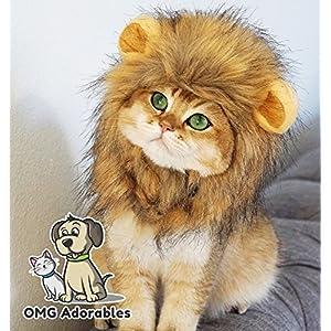 OMG Adorables Lion Mane Costume for Cat 1