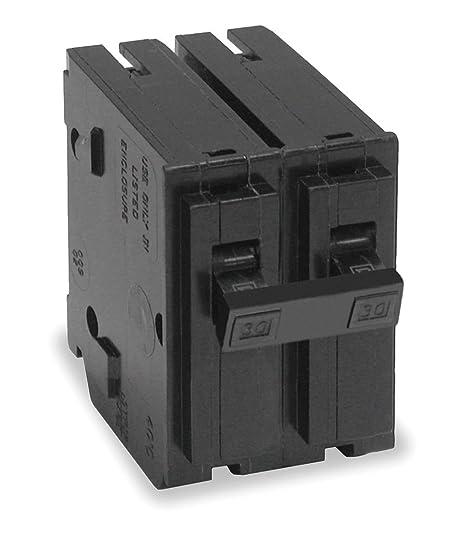 Square D Circuit Breaker, 100 Amp, 2-Pole, HOM2100 Model