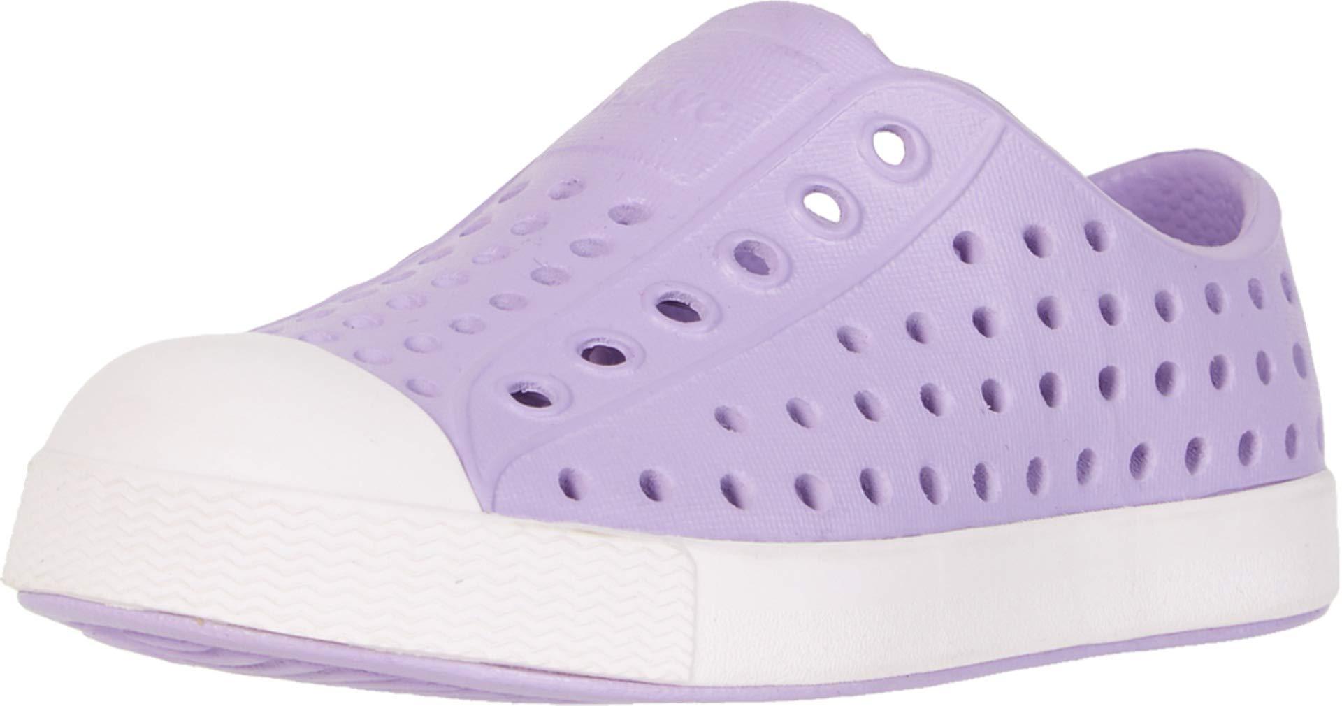 Native Kids Shoes Baby Girl's Jefferson (Toddler/Little Kid) Lavender Purple/Milk Pink 5 M US Toddler