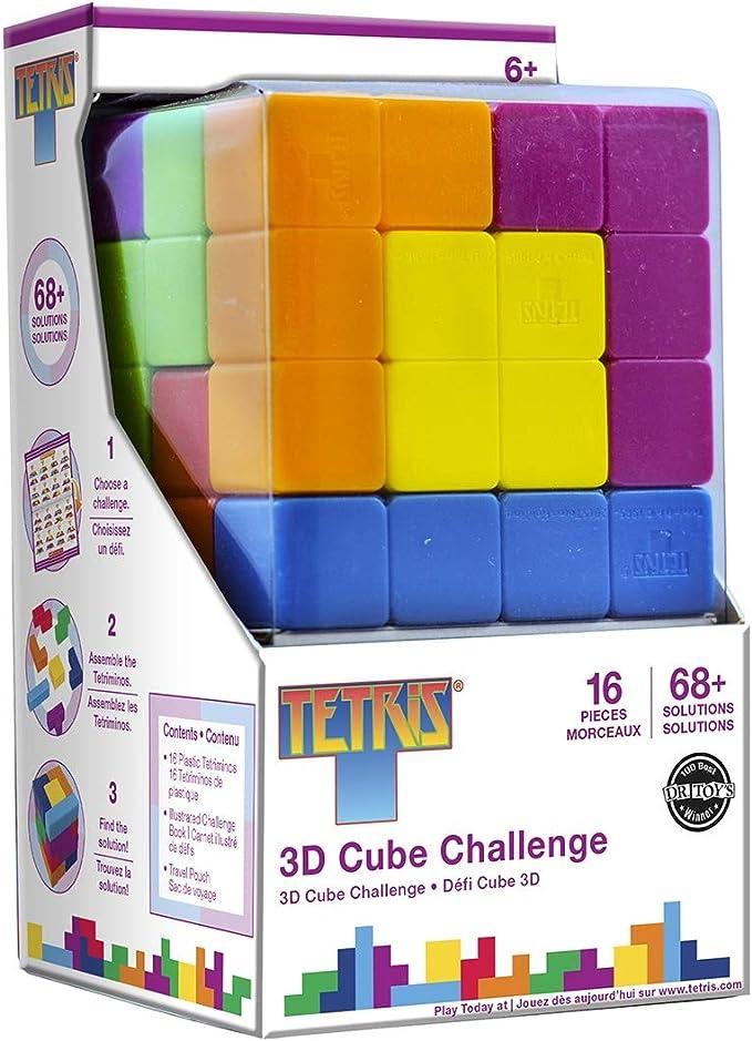 MasterPieces Obras maestras Tetris Cubo Brainteaser Puzzle (16 Piezas): Amazon.es: Juguetes y juegos
