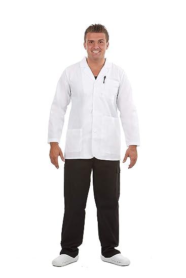 05f17ecbf3f Amazon.com: MAZEL UNIFORMS Mens Short 31 INCH LAB Coat: Clothing
