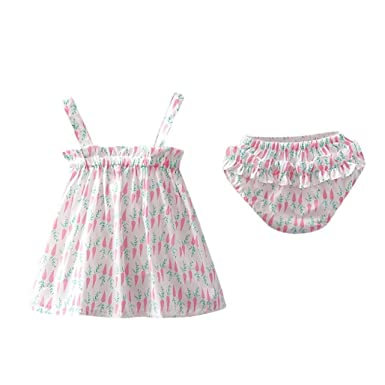 8c4628f29cff Amazon.com  WARMSHOP Summer Clothes Set for 0-24 Months