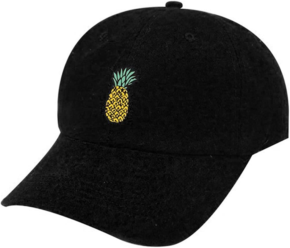 Feli546Bruce Casquette de baseball unisexe avec imprim/é ananas