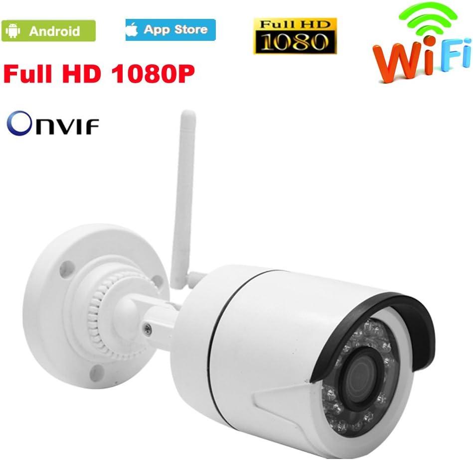 WM 1080P HD Wireless WIFI IP Camera Outdoor Security ONVIF Waterproof 2.0MP