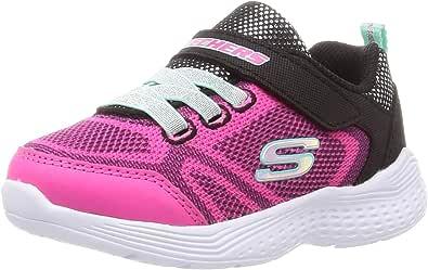 Skechers Kid's Snap Sprints Girls Cross Training Shoes Black/Multi 11.5 Little Kid