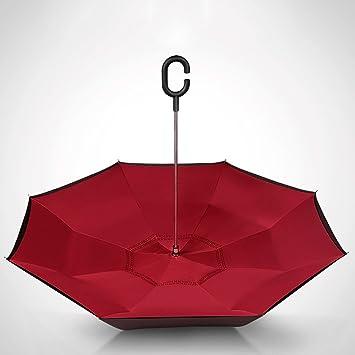 FXS Paraguas inversa | Paraguas al aire libre | Paraguas | Manos libres | Uso del