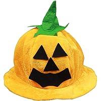Halloween Costume Party Supplies Amusing Pumpkin Hat Props Cute Decoration Comfortable Wearing Cap Clothing Accessories - Orange