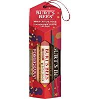 Burt's Bees Mistletoe Kiss Holiday Gift Set - Lip balm, Lip Shimmer, and Tinted Lip Balm - 3 Products in Gift Box