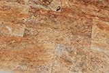 Scabos Travertine Vein Cut 12X24 Filled and Polished Tiles - Premium Quality (LOT of 20 PCS. (40 SQ. FT.))