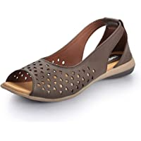 Footsoul Imara Women's Sandal (Brown) (FSL-22)