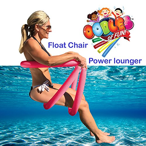 Power Lounger - Power Lounger Floating Pool Noodle Water Chair Comfortable and Relaxing Extra Floatation
