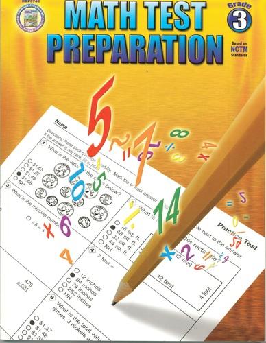 Download Math Test Preparation: Grade 3 PDF
