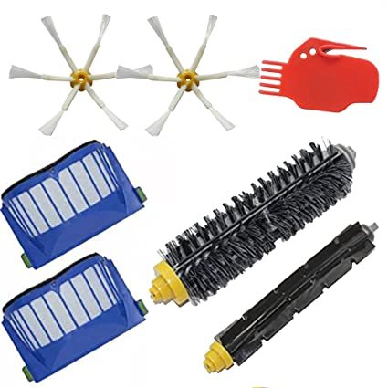 ecomaid accesorios para Kit de reposición para iRobot Roomba 585 595 600 620 650 Series Robotic